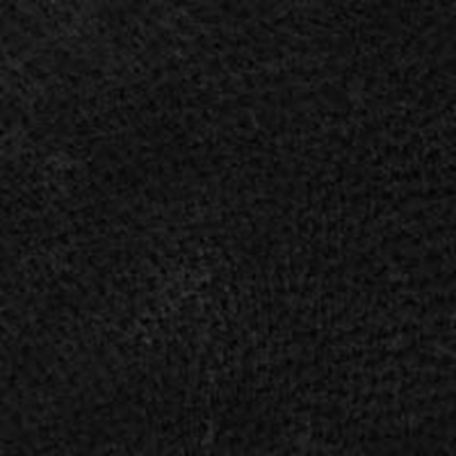 Suede Leather Swatch - Black (12)