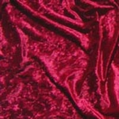 Standard Velour Velvet Swatch - Red (04)