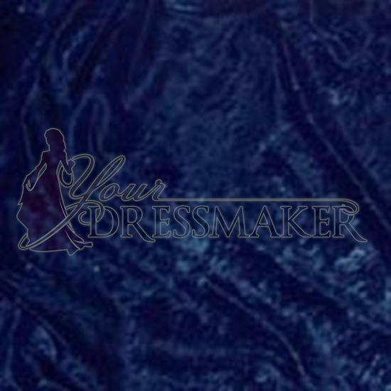 Standard Velour Velvet Swatch - Blue (13)
