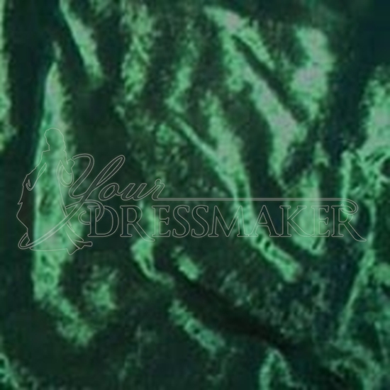 Standard Velour Velvet Swatch - Green (09)
