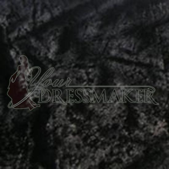 Standard Velour Velvet Swatch - Black (12)