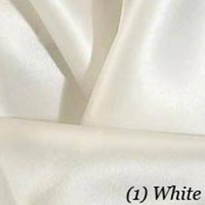 Satin Swatch - White (01)