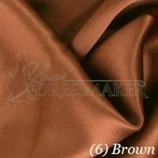 Satin Swatch - Brown (06)