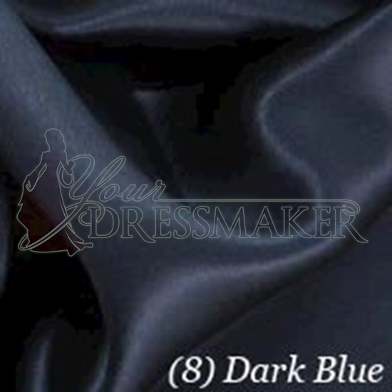 Satin Swatch - Dark Blue (08)