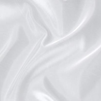 Taffeta Plain Swatch - White (01)