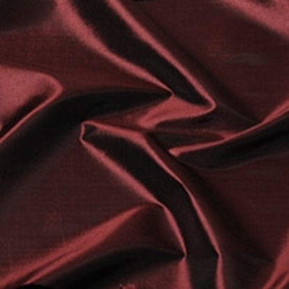 Taffeta Plain Swatch - Burgundy (03)