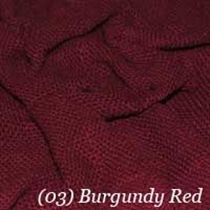 Woven Cotton Swatch - Burgundy (03)