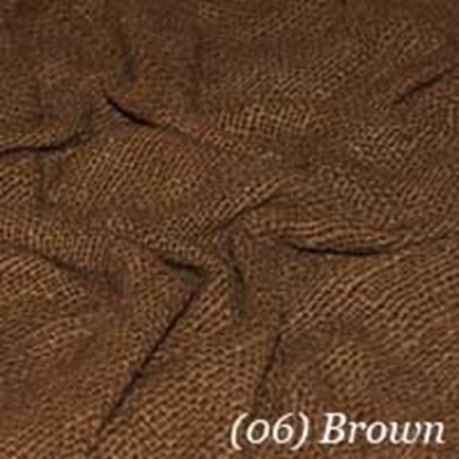 Woven Cotton Swatch - Dark Brown (06)