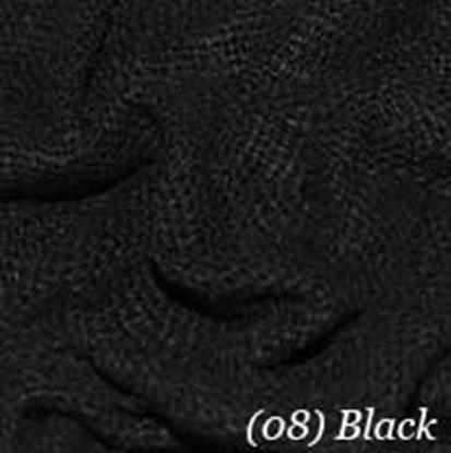 Woven Cotton Swatch - Black (12)