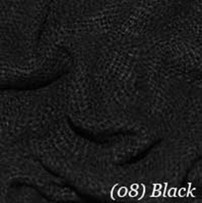 Woven Cotton Swatch - Black (12)