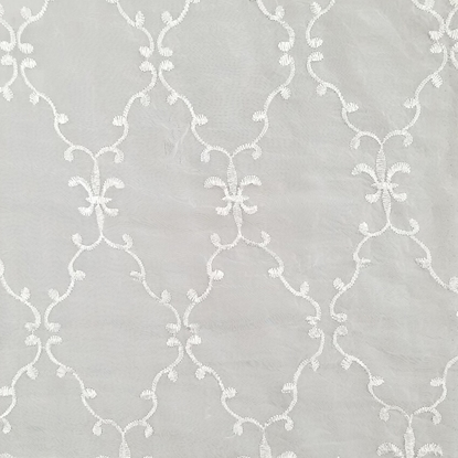 Lace No 1 Swatch - White (01)