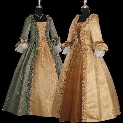 Baroque Renaissance Gown - Custom