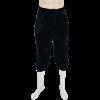 Mens Velvet Renaissance Pants - Black