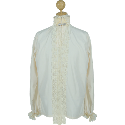 Gentleman's Renaissance Shirt - Cream
