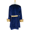 The Baron's Frock Jacket - Blue and Gold, 42 Inch Length