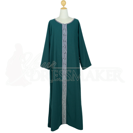 Men's Green Pagan Ritual Robe