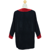 Soft Suede Medieval Tunic with Leather Trim