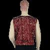 Burgundy Taffeta Duke's Vest