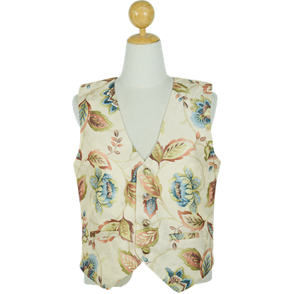 Floral Brocade Duke's Vest
