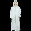 Medieval Ritual Cloak/Robe - White, 60 Inch Length