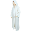 Medieval Ritual Cloak/Robe - White, 60 Inch Length