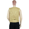 Noble's Renaissance Vest - Gold Brocade