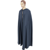 Medieval Hooded Cloak - Grey