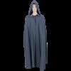 Medieval Hooded Cloak - Grey