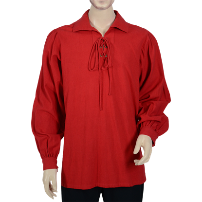 Basic Pirate Shirt - Red
