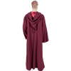 Burgundy Hooded Ritual Robe