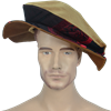 Floppy Renaissance Hat - Gold  and Red