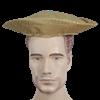 Gold Brocade Noblemans Hat