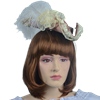 Antoinette Renaissance Hat - Rose and Cream