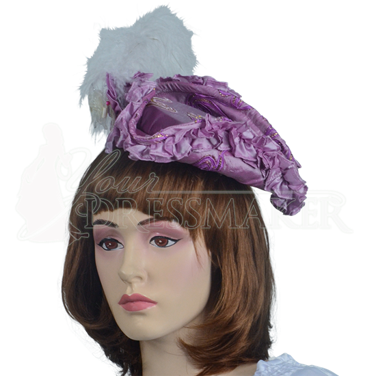 Antoinette Renaissance Hat - Pink