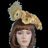 Antoinette Renaissance Hat - Gold
