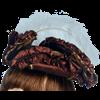 Antoinette Renaissance Hat - Brown