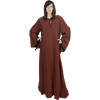 Wide Sleeved Norse Chemise - Brown