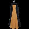 Black and Gold Renaissance Dress