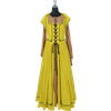 Marie Louise French Renaissance Dress - Yellow