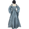 Silver Shoulder Strap Renaissance Dress