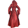 Medieval Demoiselle Dress - Red and Black
