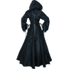 Elven Princess Dress - Black and Grey