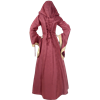 Hooded Renaissance Sorceress Gown - Red and Gold, Medium