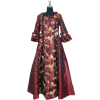 Burgundy Renaissance Dress
