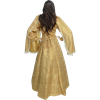 Hanging Sleeves Renaissance Gown - Gold