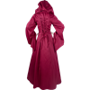 Medieval Maiden Hooded Dress - Red