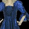 Odette Victorian Style Dress - Blue
