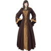 Woodland Peasant Dress - X-Large