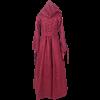 Woodland Peasant Dress - Burgundy and Black