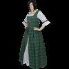 Scottish Tartan Dress - Green